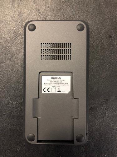 base inalambrica baseus soporte vertical/horizontal q charge