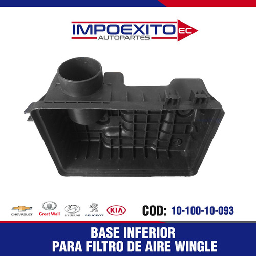 base inferior  filtro de aire great wall wingle
