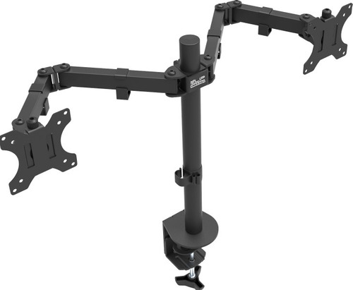 base klip kpm-310 doble monitor 13 a 27  agarre tornillo