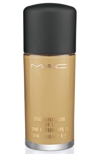 base liquida mac studio fix fluid + 2 labiales + envío