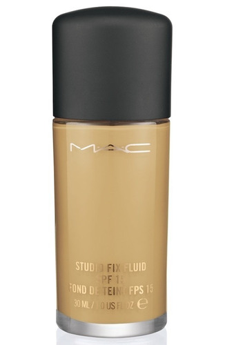 base liquida mac studio fix fluid + brillo + envio gratis