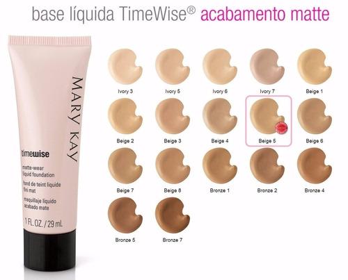 base liquida mary kay timewise matte - at leia o anúncio