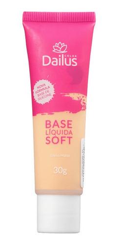 base líquida soft n° 04 bege claro 30g - dailus color