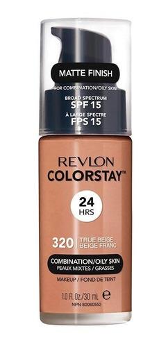base longa duração revlon colortsay 320 true beige