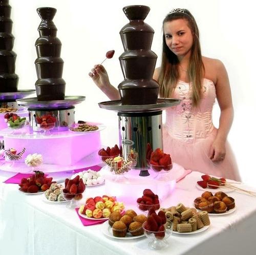 base luminosa led mesa para cascada de chocolate fuente
