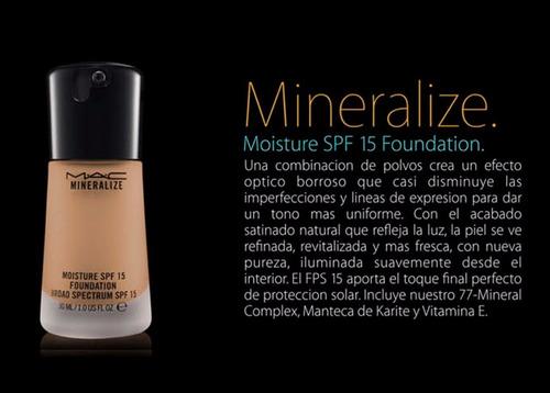 base mac mineralize  al mayor y detal