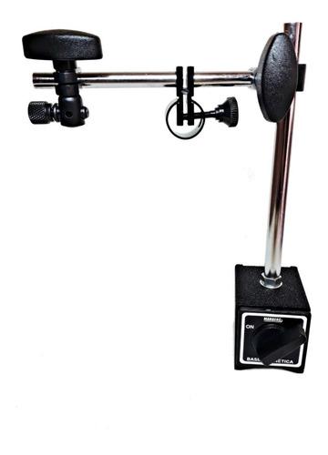 base magnética para relógio comparador com ajuste fino