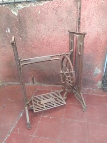 base maquina de coser antigua