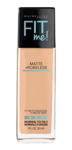 base matificante fit me tono 220 natural beige maybelline