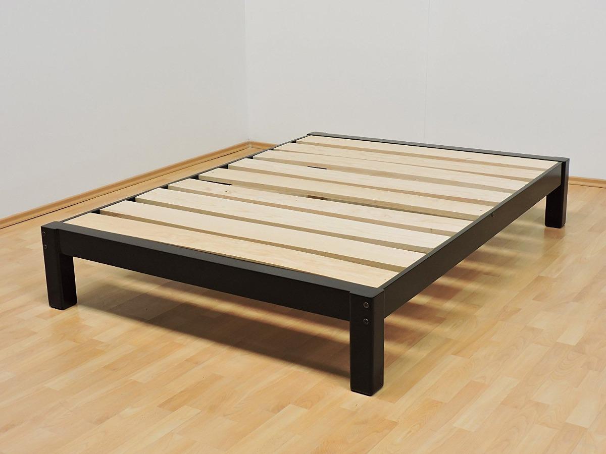 Base matrimonial de madera en mercado libre - Bases para cama ...