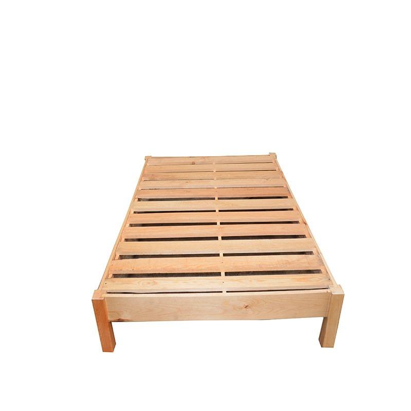 Base matrimonial de madera bases camas matrimoniales for Colchones para cama matrimonial