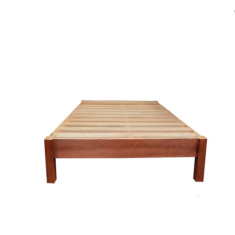 Base matrimonial de madera bases camas matrimoniales for Medidas de base de cama matrimonial