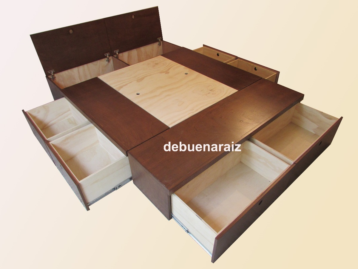 Increíble Camas Tamaño Queen Con Muebles De Cajones Fotos - Muebles ...