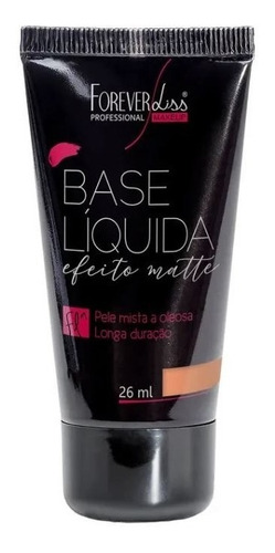 base matte liquida forever liss - médio 02