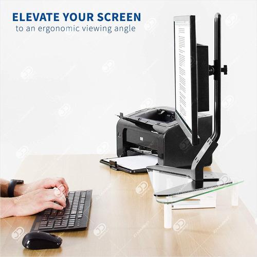 base / mesa 2 niveles para portátil, monitor, pc · jd bma-12
