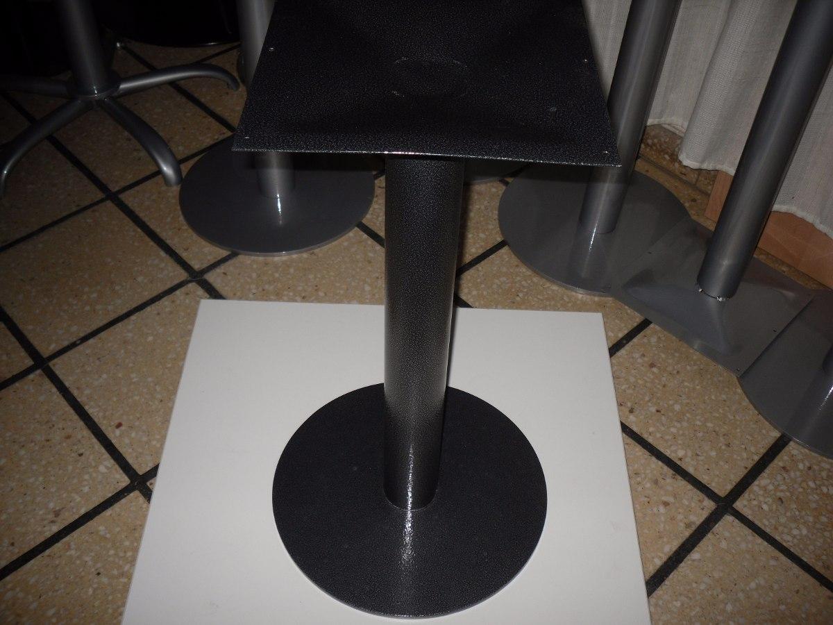 base mesa de bar pata pi central resto comedor cocina