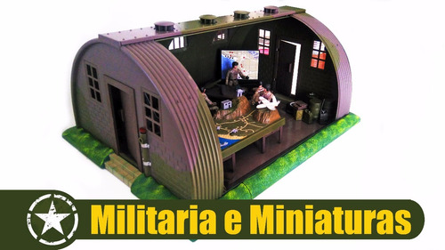 base militar 1/18 - world peacekeepers power team elite