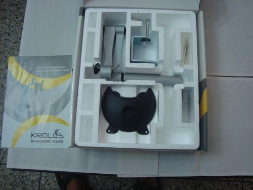 base monitor pc krolls para mesa 14-22 pulgadas