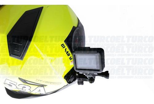 base montaje casco lateral gopro