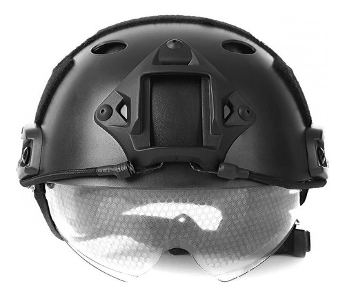 base montura casco gotcha paintball airsoft tactico gopro m4