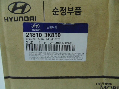 base motor derecha hyundai sonata-azera 3.3-06/08 original