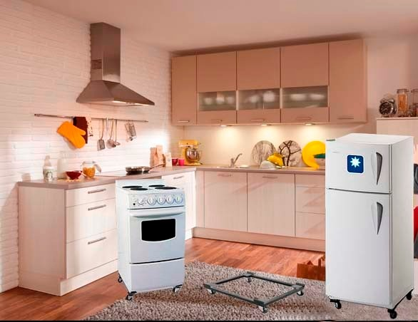 Base Móvil C/frenos Cocina, Refrigeradora .. - Envío Gratis - S/ 85 ...