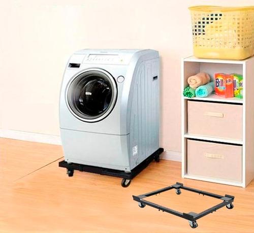base móvil para lavadora, secadora... - envio gratis