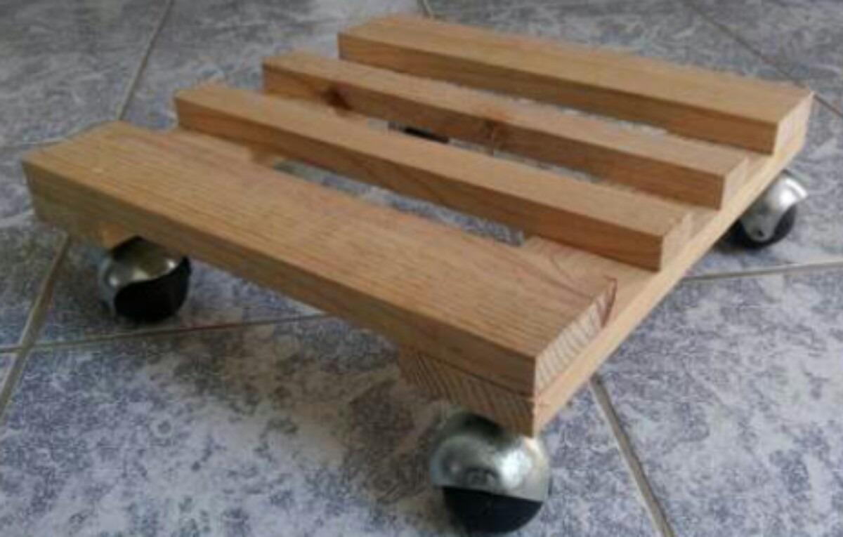Base m vil para macetas en mercado libre - Macetas de madera para exterior ...