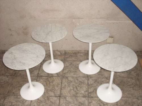 base p/ mesa lateral eero saarinen / temos mesas de jantar