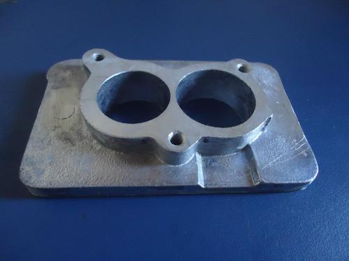 base para adaptação de carburador 2e