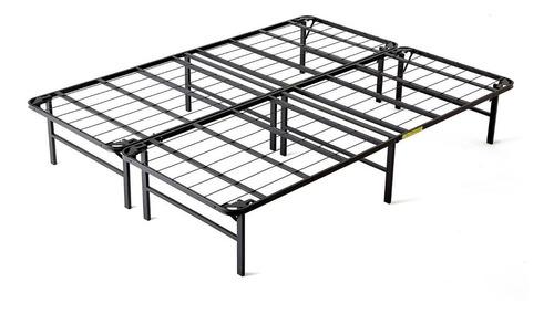 base para cama ajustable de metal con madera king size
