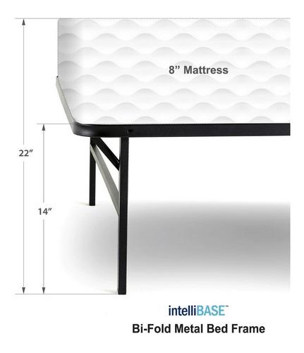 base para cama ajustable de metal tamaño matrimonial (full)