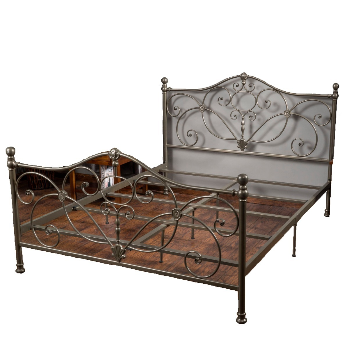 Base Para Cama De Metal King Size - $ 9,399.00 en Mercado Libre