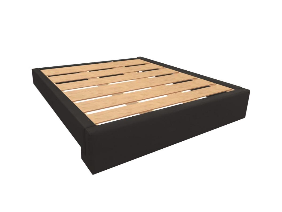 Base para cama individual madera tapizada aargos 2 361 - Bases para cama ...