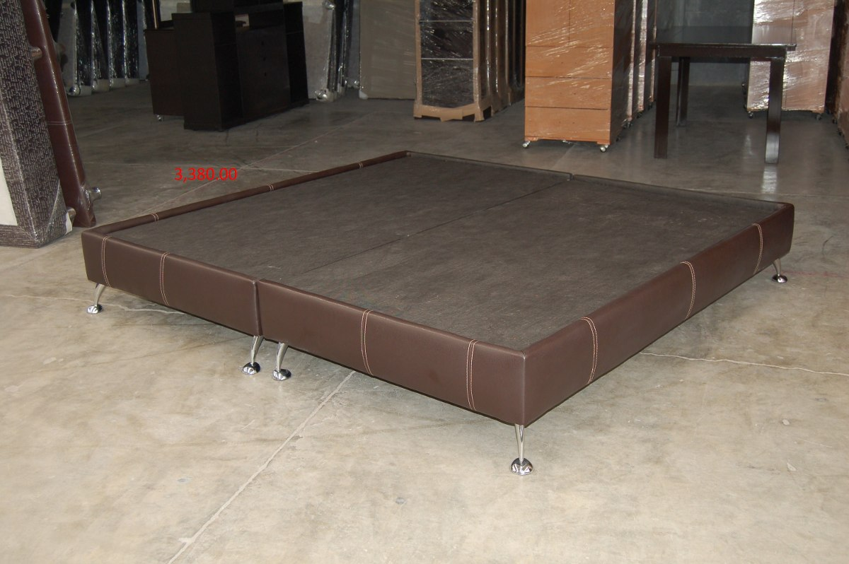 base para cama modelo rubi king size 3 en On base para colchon king size