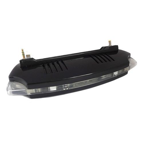 base para cargar consola psp 1 con luz y altavoces nepa