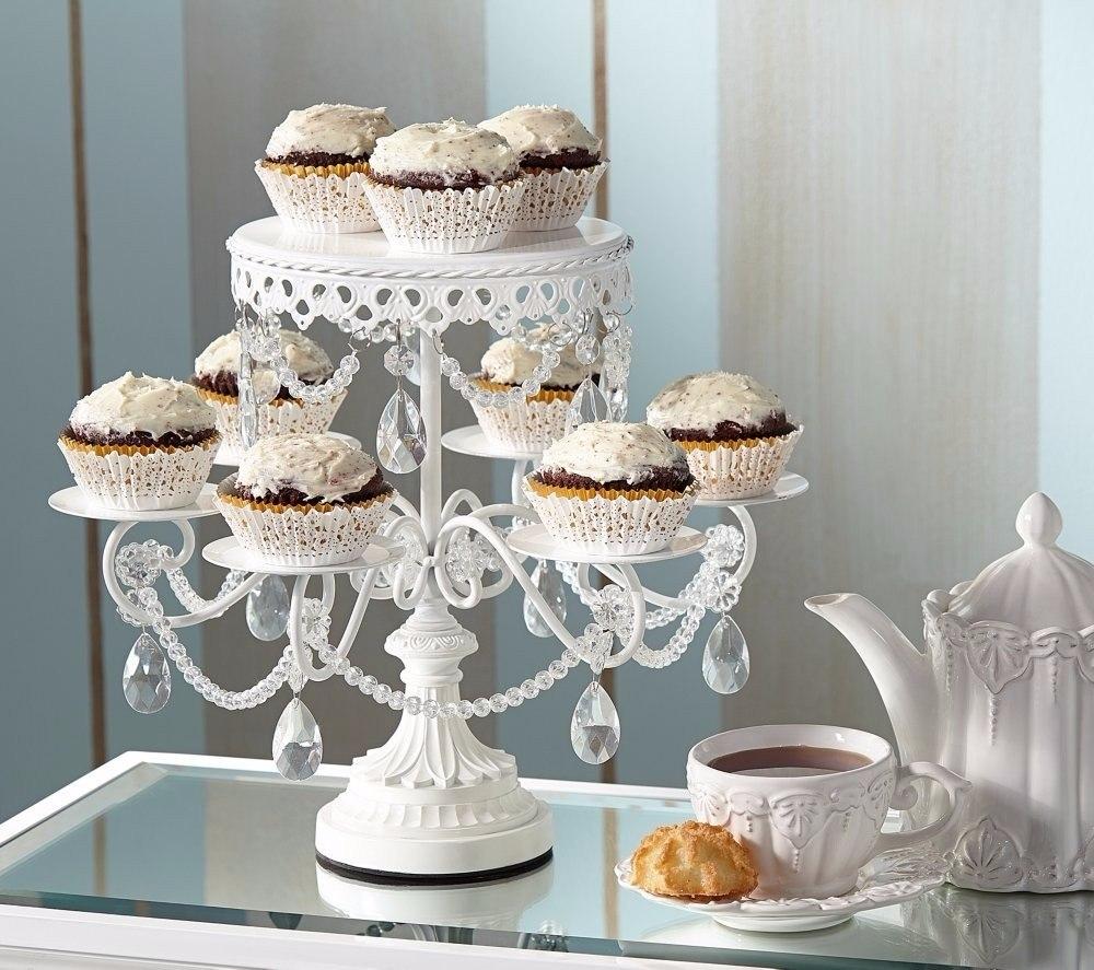 Base para pastel de boda cupcake cristal blanca envio - Bases para cupcakes ...
