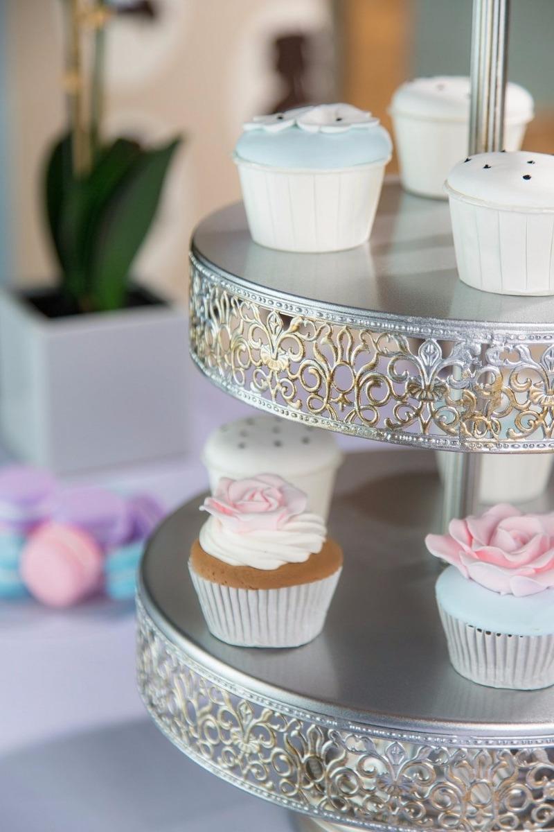 Base para cupcake elegante quequis bocadillos 3 nivel - Bases para cupcakes ...
