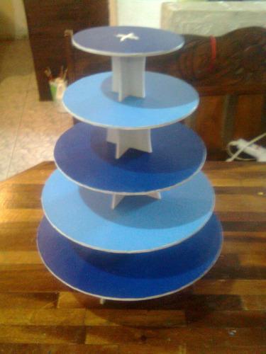 base para cupcakes ponquesito  5 pisos reversibles