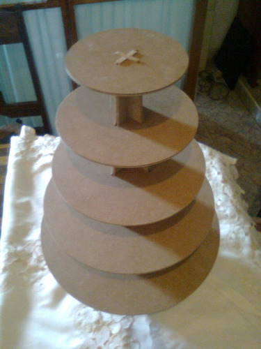 base para cupcakes ponquesitos 5 pisos