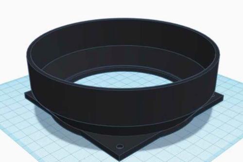 base para ducto antminer  5 y 6 pulgadas