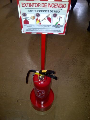 base para extintor