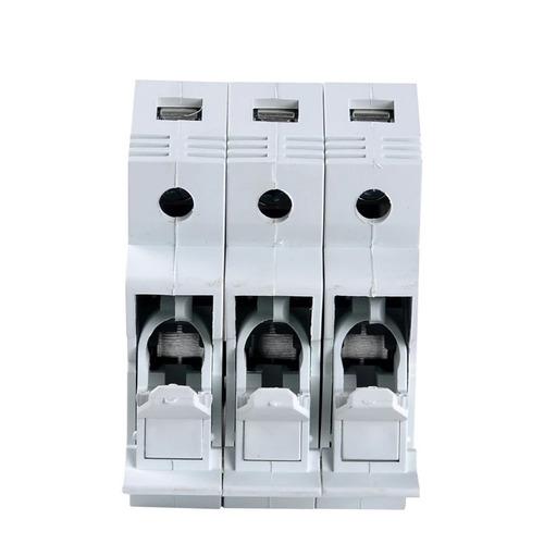 base para fusível triplo porta fusível tripolar