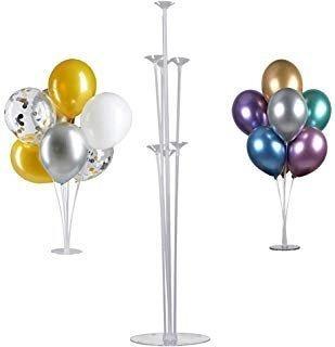 base para globos soporte acrilico globos helio decoracion
