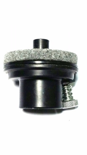 base para maquina de chimbal 5/8 bauer bau 16 torelli