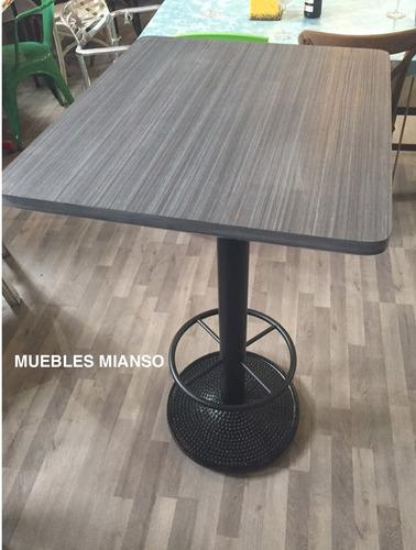 base para mesa  periquero dots