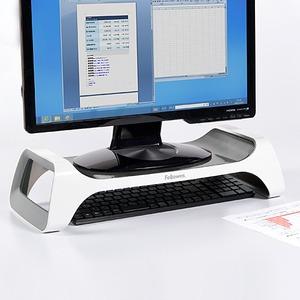 base para monitor fellowes 9311101 de plastico color blanco