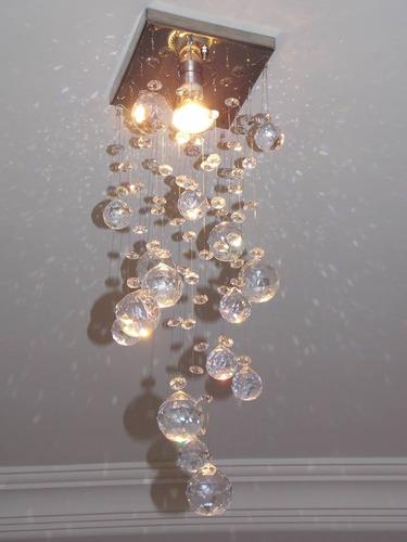 base para montagem de lustre de cristal tamanho 14x14