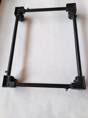 base para nevera, estufa o muebles, doble rueda.