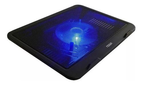 base para notebook cooler gamer led usb 13 a 17 noga ng-z019